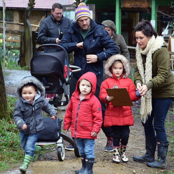 Family At Buchan Country Park Easter Egg Hunt 2016 | fobcp.org.uk