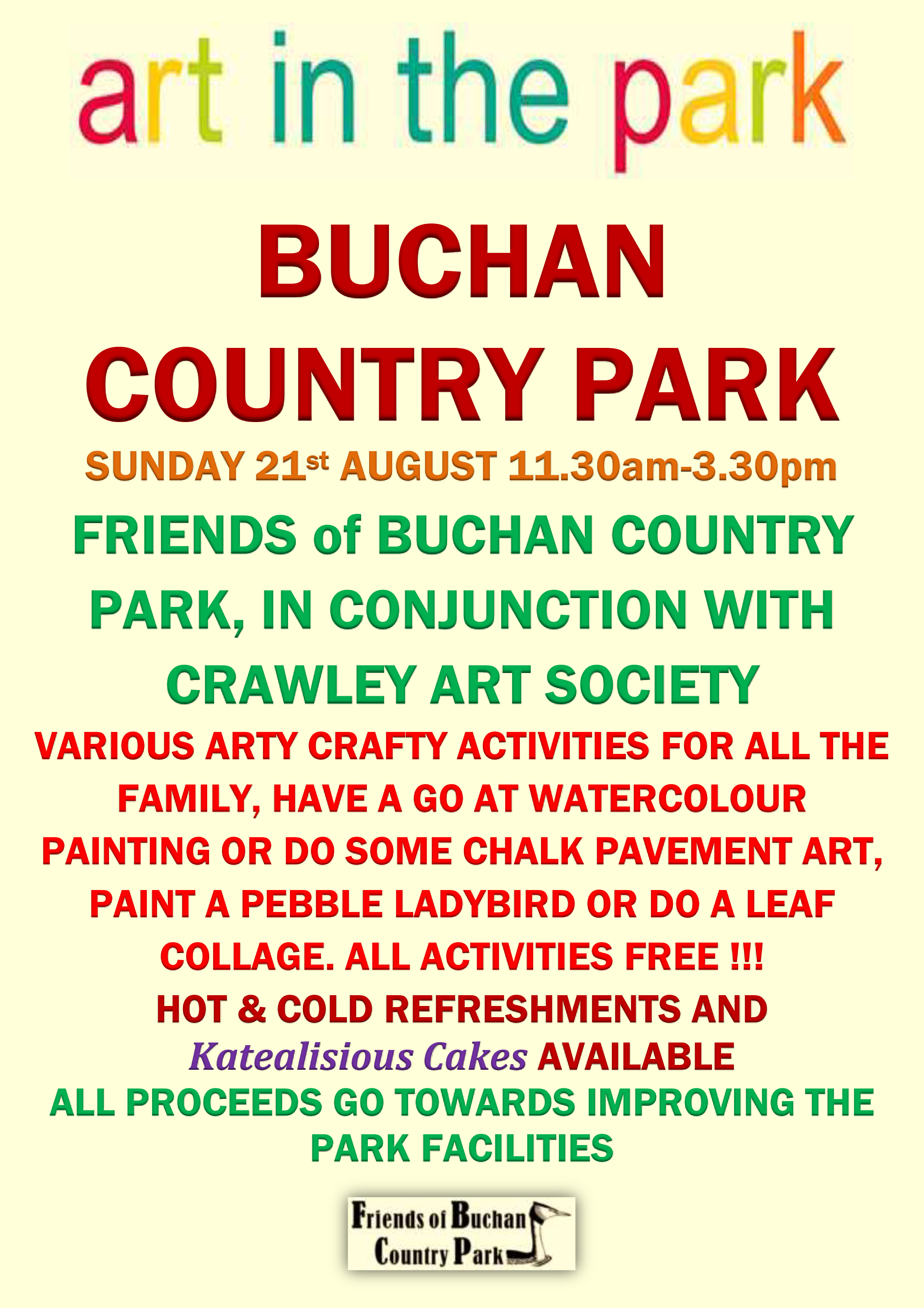 Friends Of Buchan Country Park Art In The Park 2016 Poster