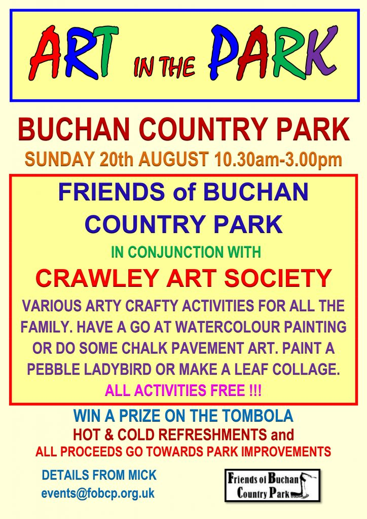 Friends of Buchan Country Park Art In The Park 2017 Poster