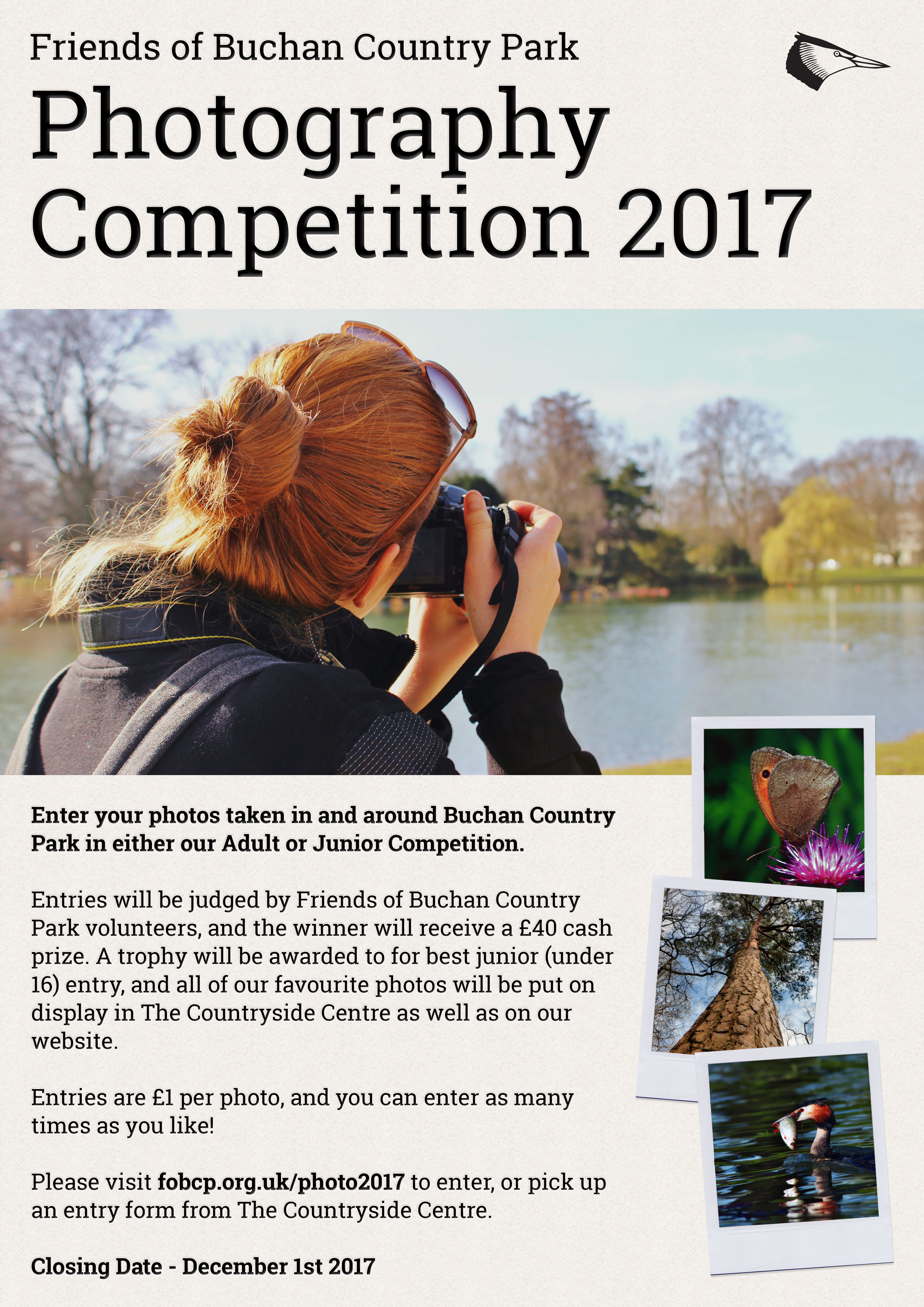 Buchan Country Park Photography Competition 2017 Poster